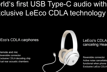 LeEco Unveils Two Pairs of USB-C Headphones to Go with the Le 2 Phones
