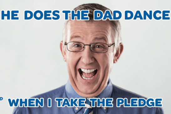 AT&T Urges You to take the #Pledge4Dad This Father's Day