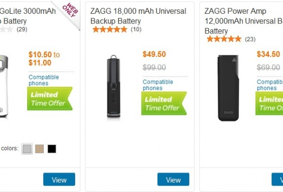 AT&T is offering 50% off back-up batteries