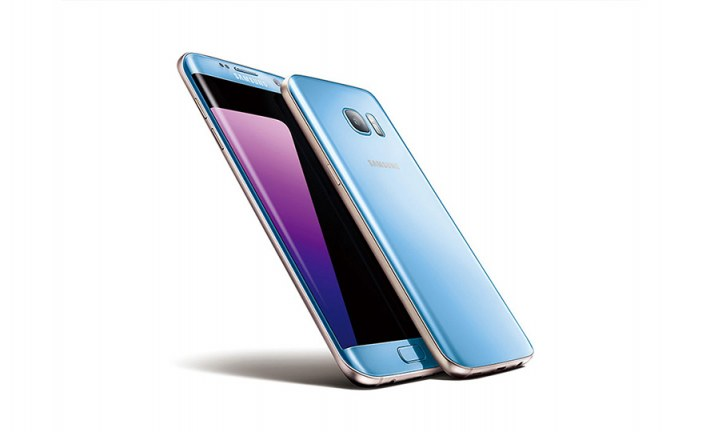 Samsung Galaxy S7 edge Now Available in Blue Coral