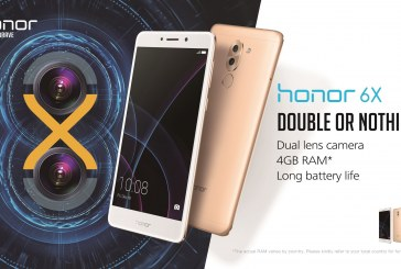 Huawei Follows Up with the Honor 6X at CES