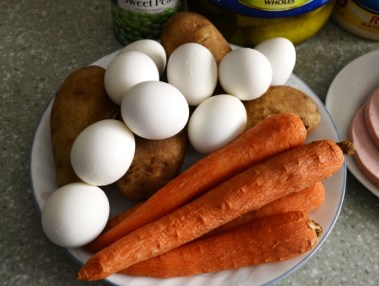 Eggs, Carrots and Potatoes