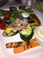 Saju Bistro Grilled Vegetables