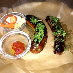 Sausages at Clio