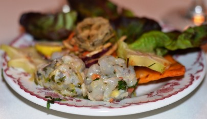 Shrimp Ceviche Brasserie Louis