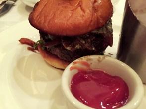 Wagyu Burger with Gorgonzola