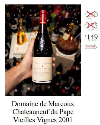 Domaine du Marcox Chateauneuf du Pape