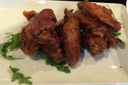 Confit Chicken Wings at Portside Tavern