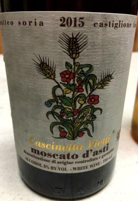2015 Cascinetta Vietti Moscato D'Asti