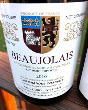 """Paul Durdilly et Fils """"Les Grandes Coasses"""" Beaujolais Nouveau"""