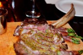 Tomahawk steak at Tavern 489