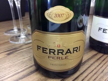 Ferrari Perlé Metodo Classico Trento DOC