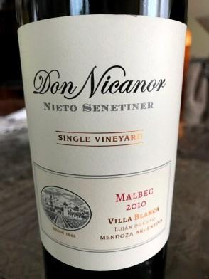 Nieto Senetimer Don Nicanor Malbec