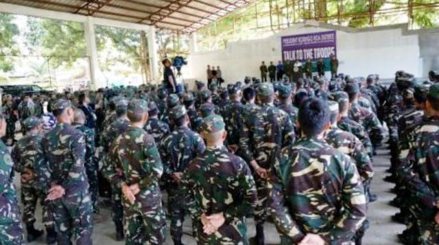Duterte Tells Troops to rape with impunity