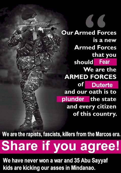 Warning: Don't Rape. Don't pillage. Don't Plunder
