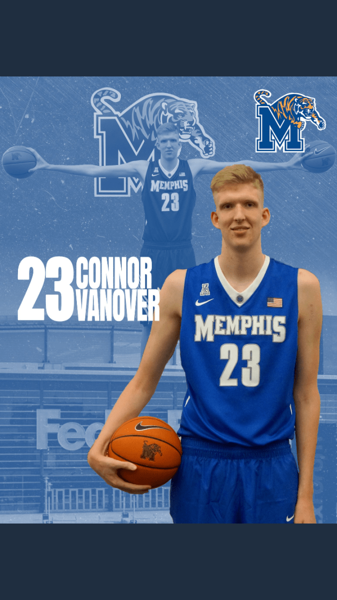 7-Foot-4-Inch Findlay Prep Center Connor Vanover has committed to the University of Memphis' Basketball Team