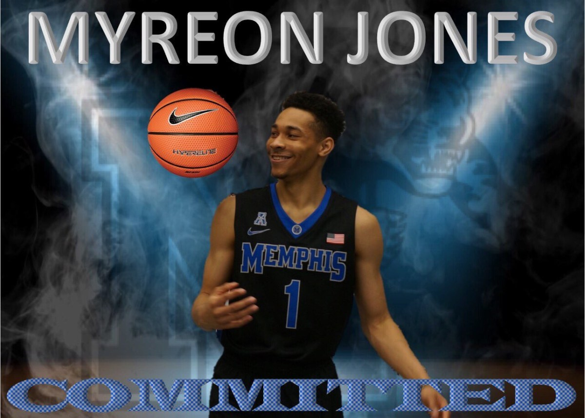Four-Star Guard Myreon Jones Commits to Tubby Smith and the Memphis Tigers