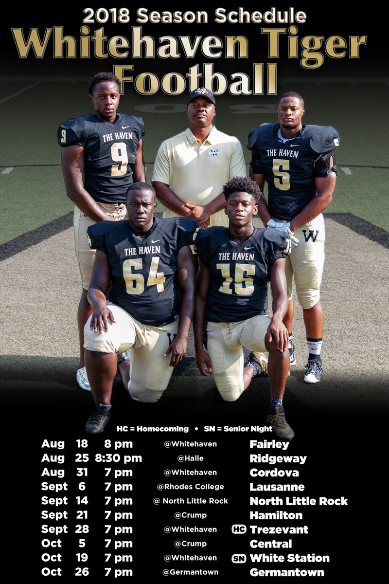 High School Football Team Previews - Whitehaven Tigers- (The Memphis SportsZone)