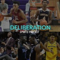 Deliberation Sports Podcast Episode 11 James Wiseman vs. Evan Mobley in depth review, Penny Hardaway recruiting, College Basketball headlines etc.