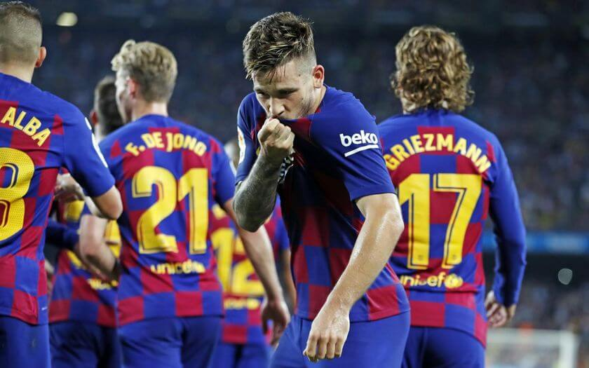 Carlos Perez First Team Goal - FC Barcelona vs Real Betis