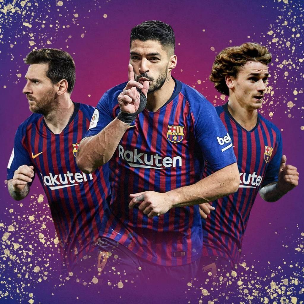 FC Barcelona Tactical Analysis - Griezmann Suarez Messi Trio - GSM