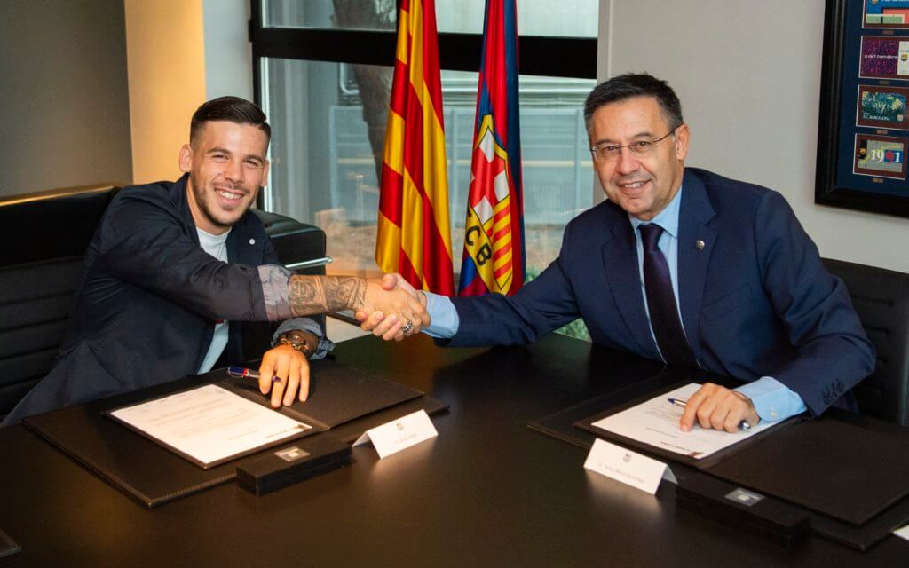 FC Barcelona News Roundup - Carlos Perez Contract Extension