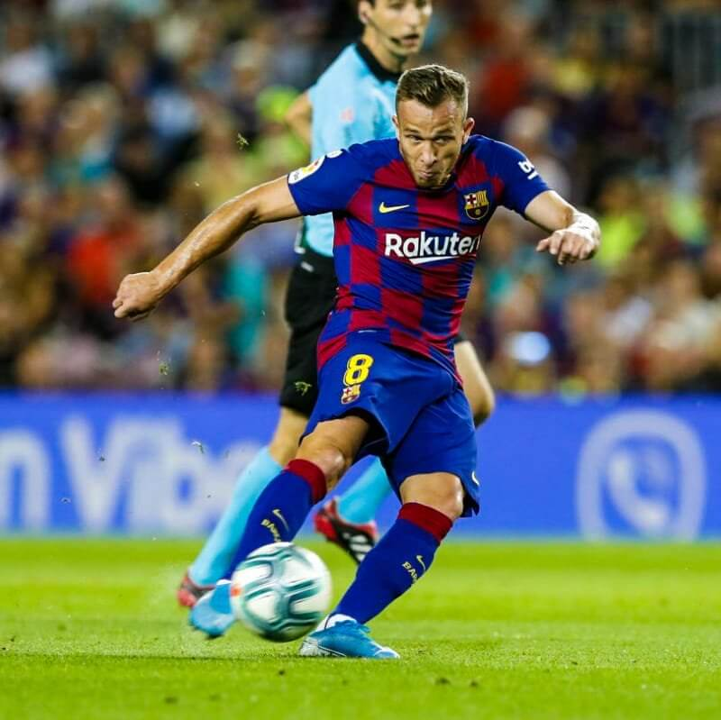 FC Barcelona vs Villarreal [2-1] - Arthur Melo Goal - LaLiga 19-20