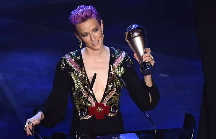 Fifa Player Of the Year Ceremony 2019 - Women Best Player Of The Year - Megan Ropinoe