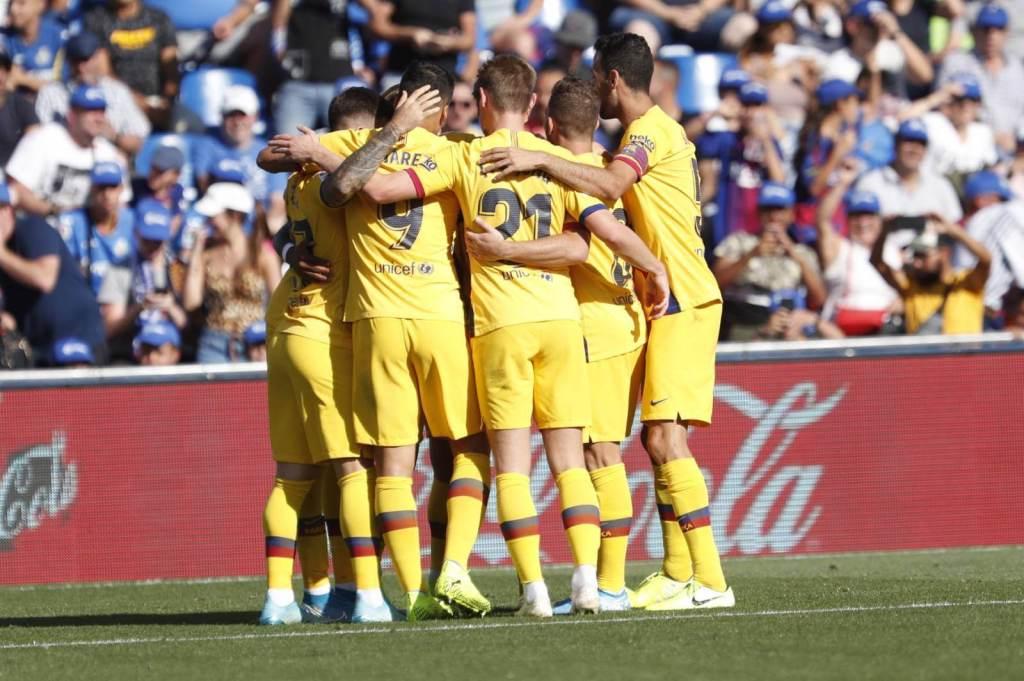 Getafe vs Barcelona [0-2] Victory Away From Home - La Liga 2019-20