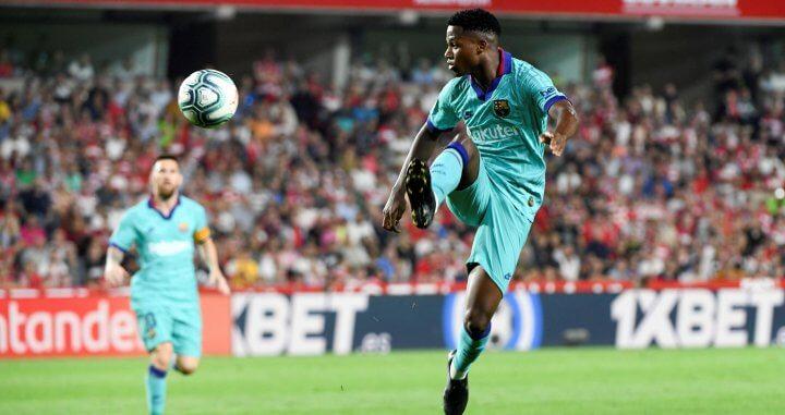 Granada vs FC Barcelona - Ansu Fati - LaLiga 2019-20