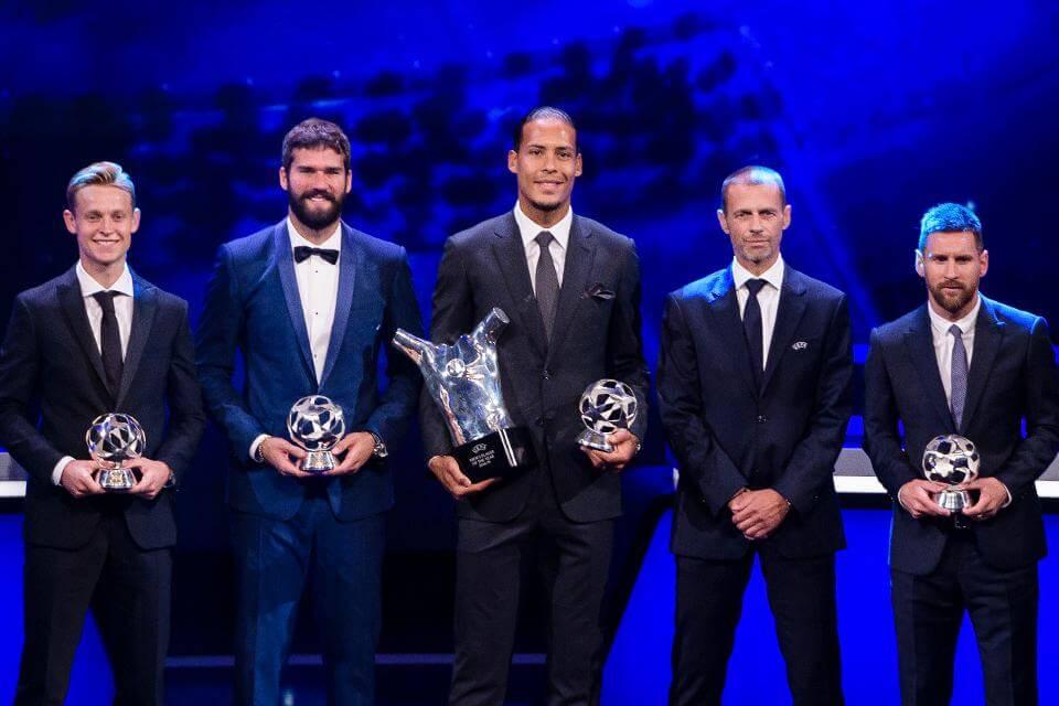 UEFA Players Of The Season 2019