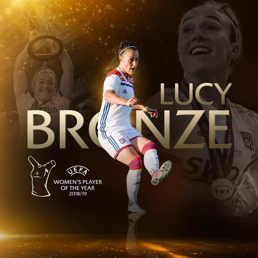 UEFA Women's Player of the Year 2019 - Lucy Bronze