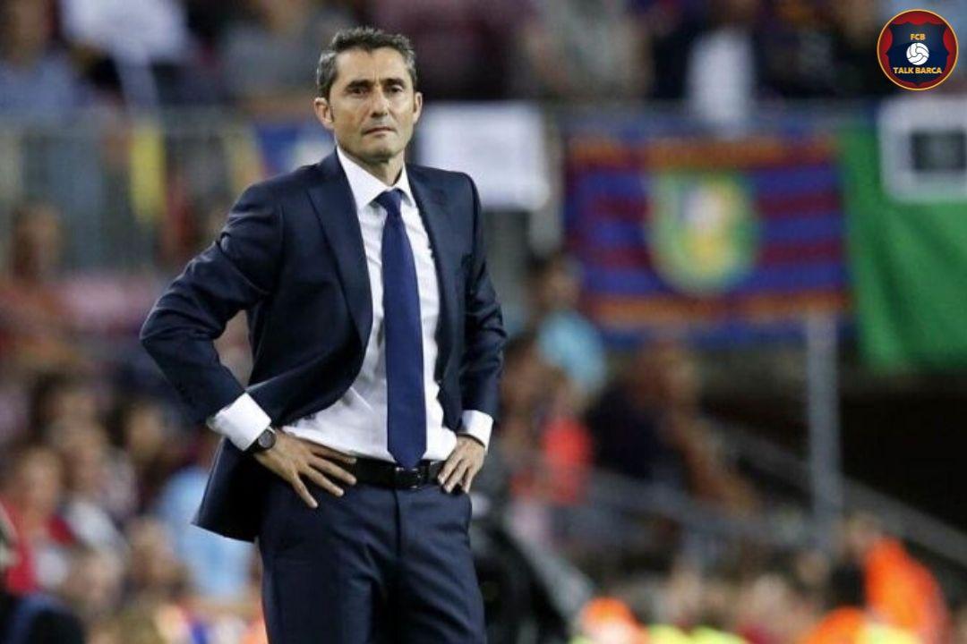 Ernesto Valverde To Leave Barcelona