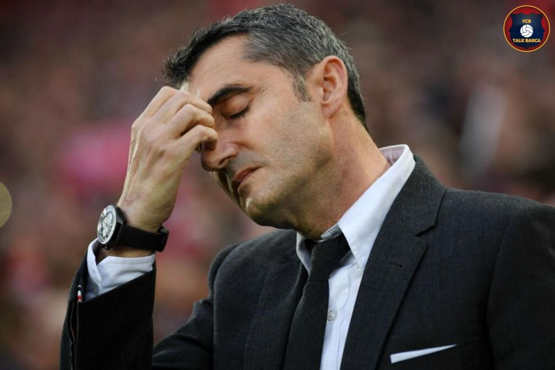 Ernesto Valverde To Leave at the end of 2019-20 Season