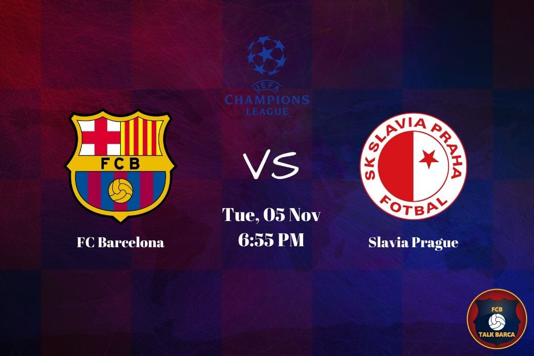 November Preview - Barcelona vs Slavia Prague