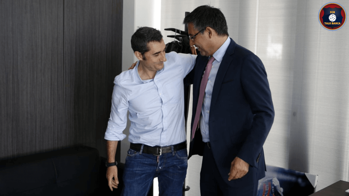 Ernesto Valverde Meeting With Bartomeu Before Getting Sacked
