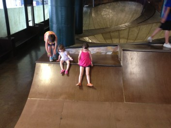 "The ""no skate"" skate park. This is one of my kids' favorite parts of the museum."