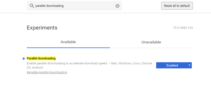 Accelerate Download Speed