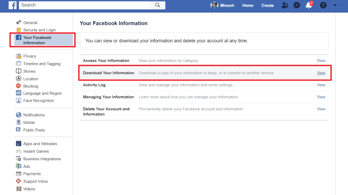 Download All Photos From Facebook At Once