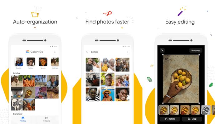 Google Photos Alternative: Gallery Go