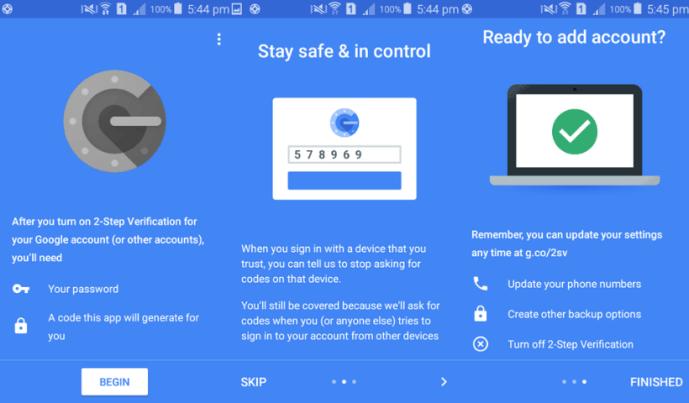 Google Authenticator App