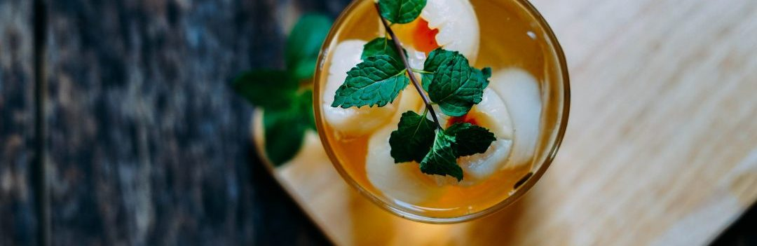 How to make lychee bubble tea