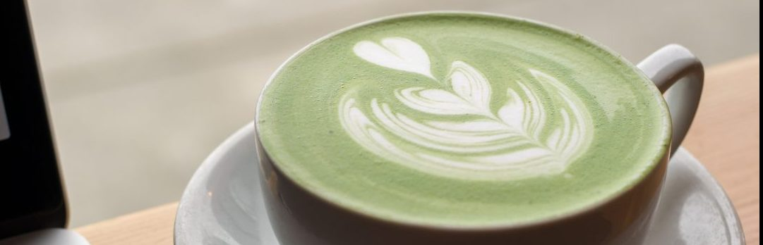 How to make strawberry matcha latte with boba pearls