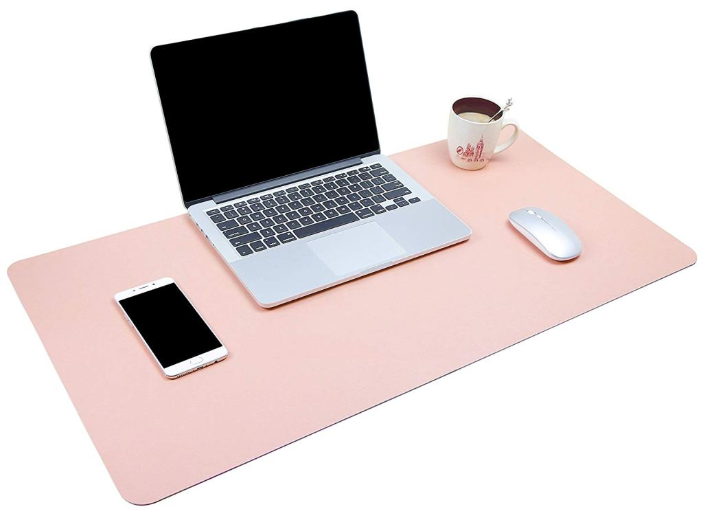 Pink Ultra Thin Desk Pad