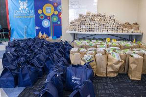 11-19-20 GECU Thanksgiving Dinner Donation Giveaway Event at LDCC IPA 03-min