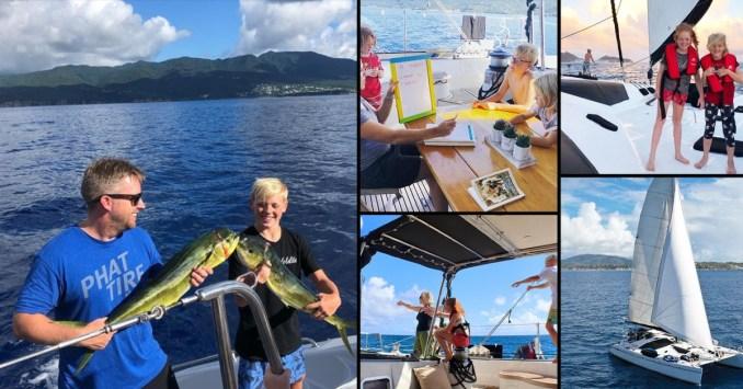 RevUnit co-founder Saumweber, family hit the high seas to circle the globe – Talk Business & Politics