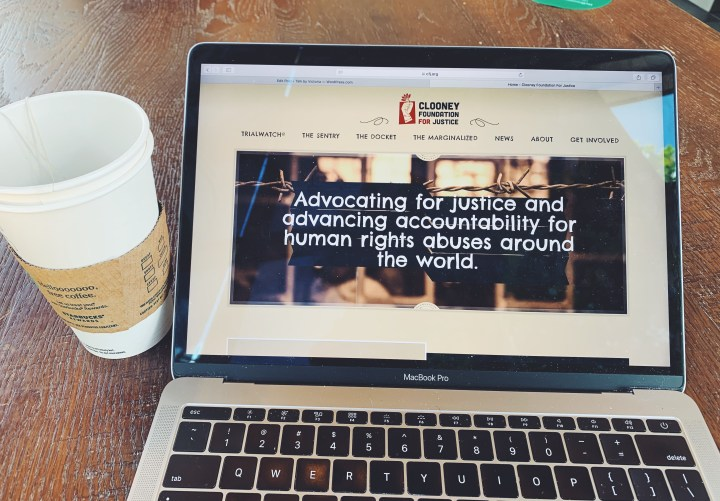 Clooney Foundation for Justice: Bringing light to human rights trials around the world