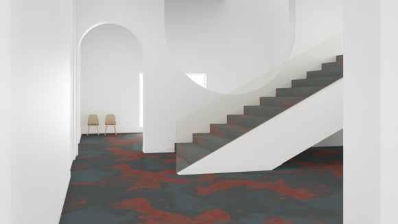 millennial pink carpet