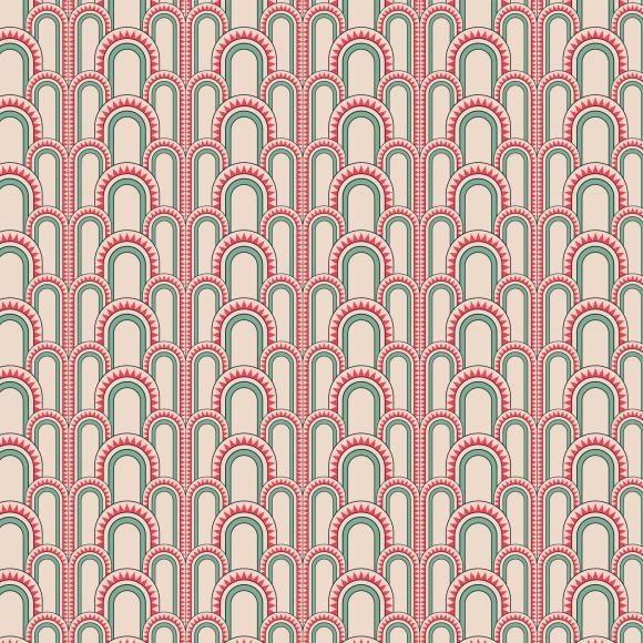 cactus custom carpet pattern