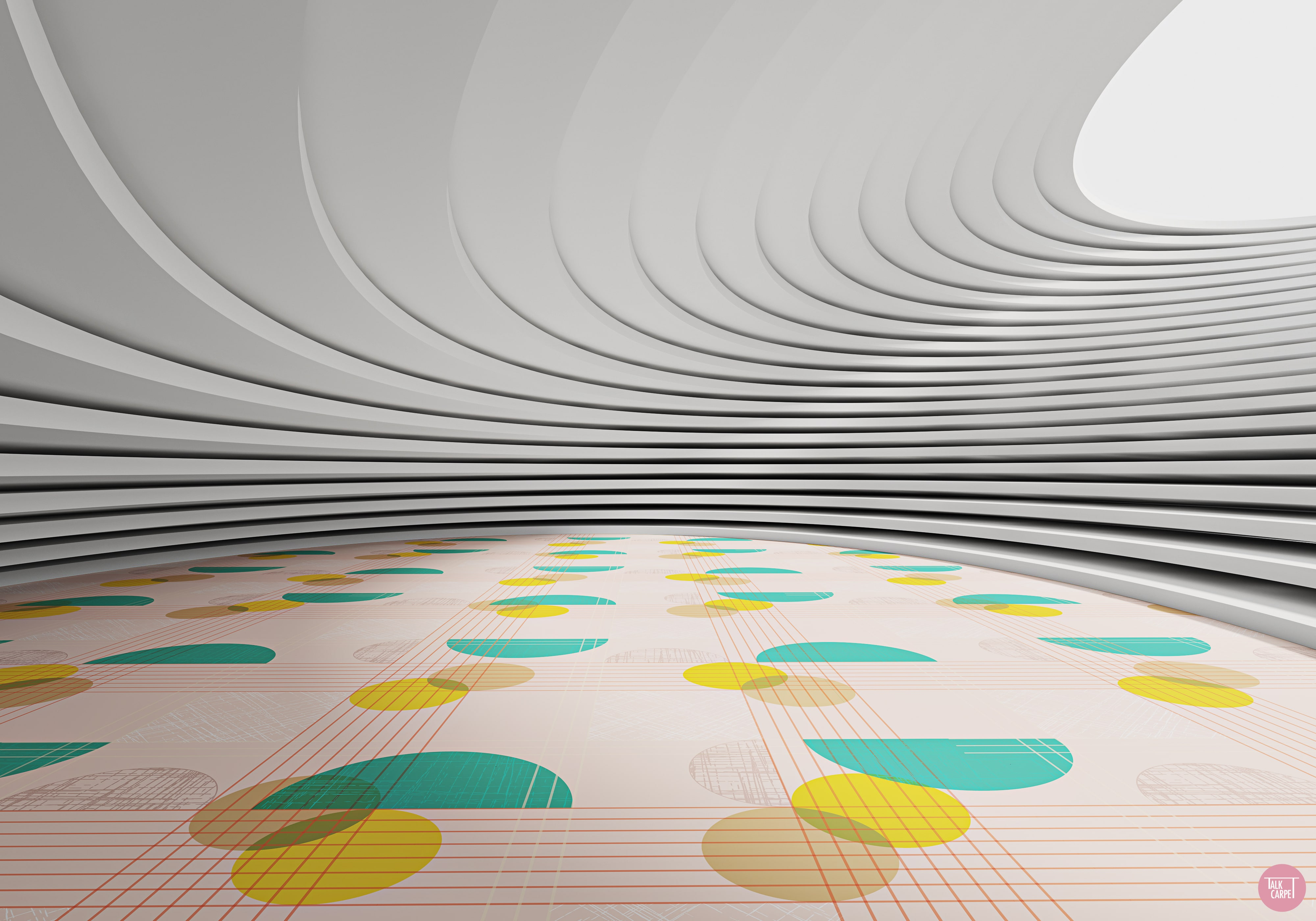 Talk Carpet custom pattern